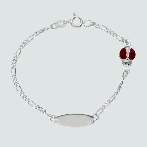Pulsera Piocha Cartier Chinita Esmaltada 16 cm