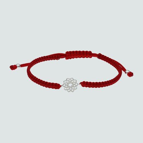 Pulsera Ajustable Trenzada Mandala