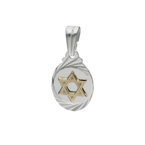 Colgante Estrella de David con Oro