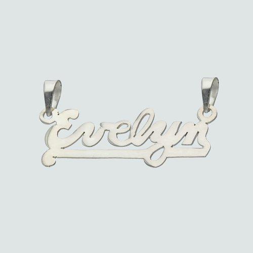 Colgante Nombre Evelyn