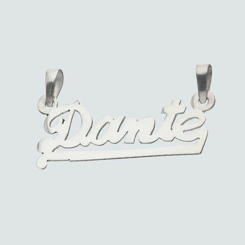 Colgante Nombre Dante