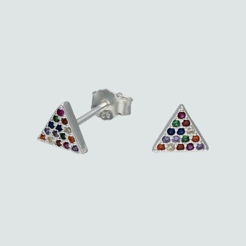 Aro Triangulo Circones Multicolor