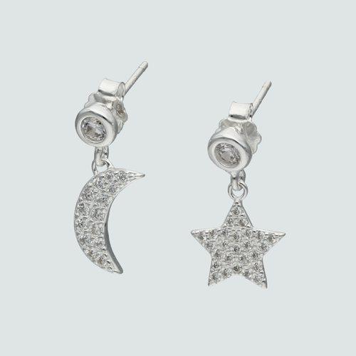 Aro Desigual Media Luna y Estrella Circones