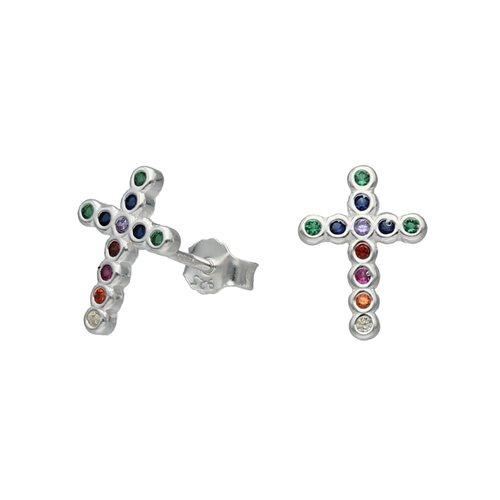 Aro Cruz Circones Multicolor