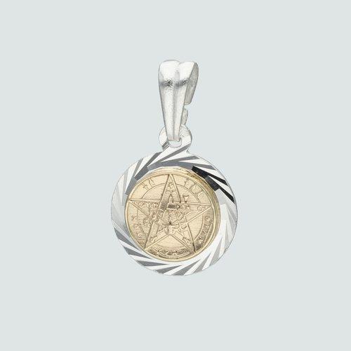 Colgante Tetragrammaton con Oro