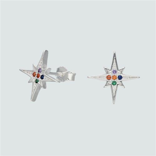 Aro Estrella Fugaz Circones Multicolor