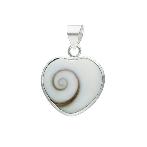 Colgante Corazón Ojo de Shiva