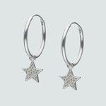 Argolla con Estrella Circones 20 mm