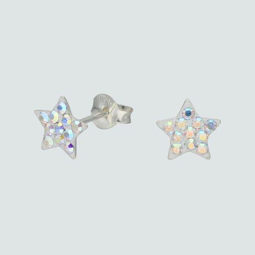 Aro Estrella Hecho con Cristal Swarovski® Tornasol