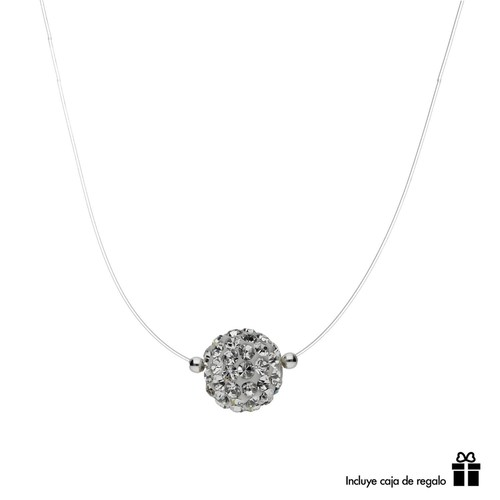 Collar Fantasma Strass