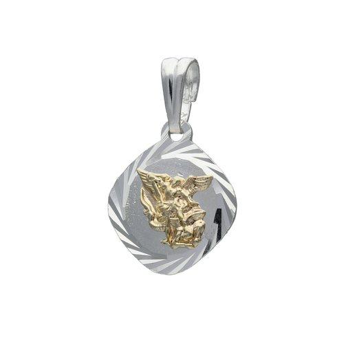 Colgante San Miguel Arcángel con Oro