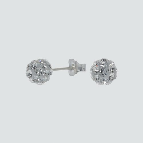 Aro Esfera Strass 6 mm