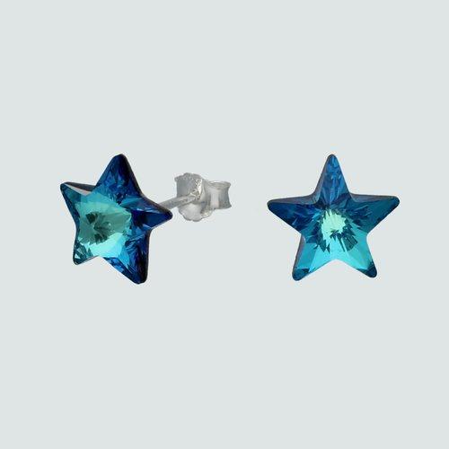Aro Estrella Hecho con Cristal Swarovski®