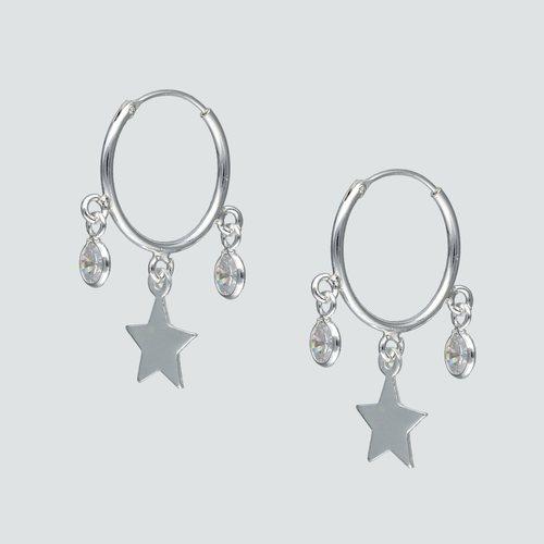 Aro Argolla Circones y Estrella 16 mm