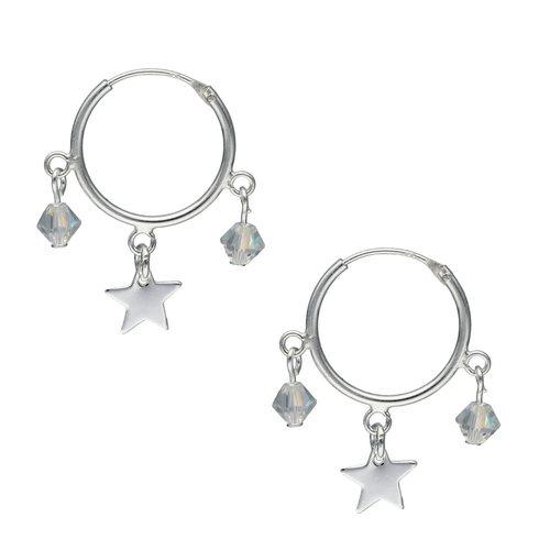 Argolla Cristal Hecho con Swarovski® y Estrella 16 mm