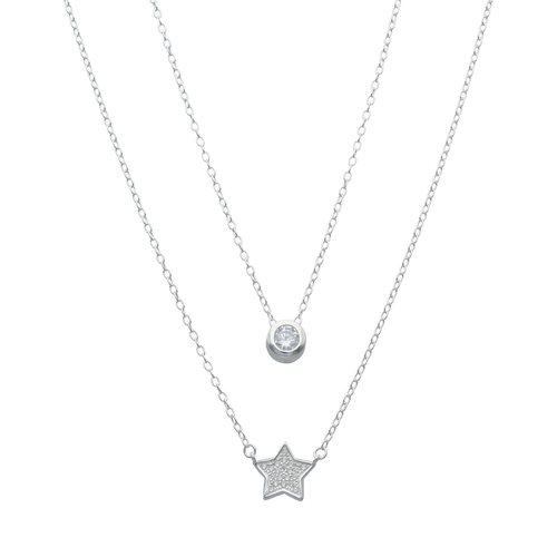 Collar Doble Estrella Circones