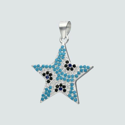 Colgante Estrella Circones Multicolor
