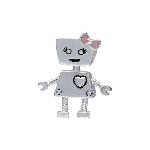 Colgante Charm Robot Bella