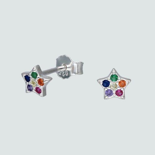 Aro Estrella Circones Multicolor
