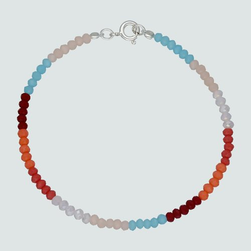 Pulsera Cristales Multicolor