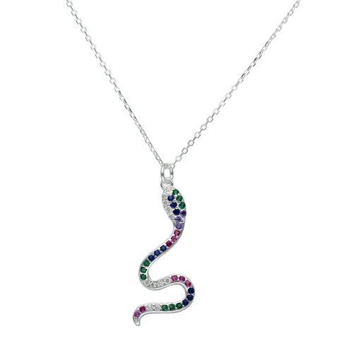 Collar Serpiente Circones Multicolor