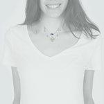 Collar Cascada Mano de Fátima Ojo Turco Perlas y Circones