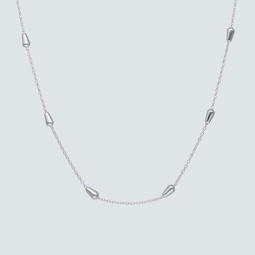 Collar Choker Ajustable Tradicional con Ovalos