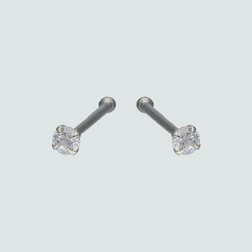 Piercing Circón 2 mm