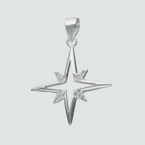 Colgante Estrella Fugaz con Circones