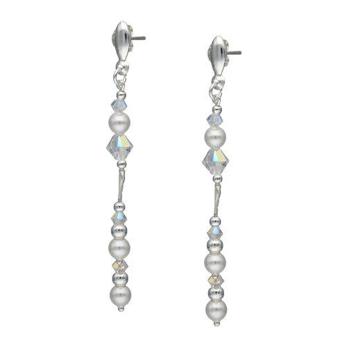 Aro Cristales y Perlas