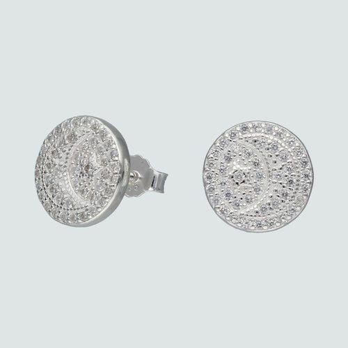 Aro Media Luna Estrella con Circones