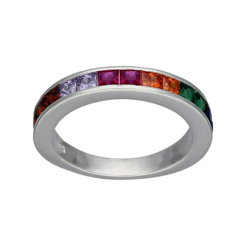 Anillo Cintillo Circones Multicolor