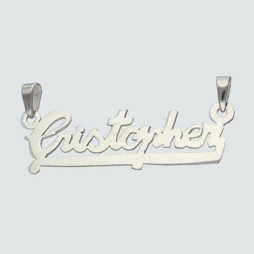 Colgante Nombre Cristopher