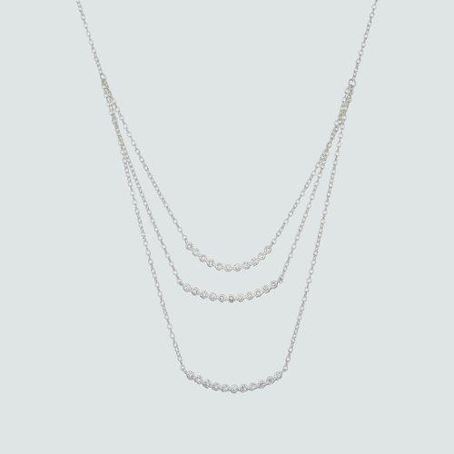 Collar Cascada Triple Circones
