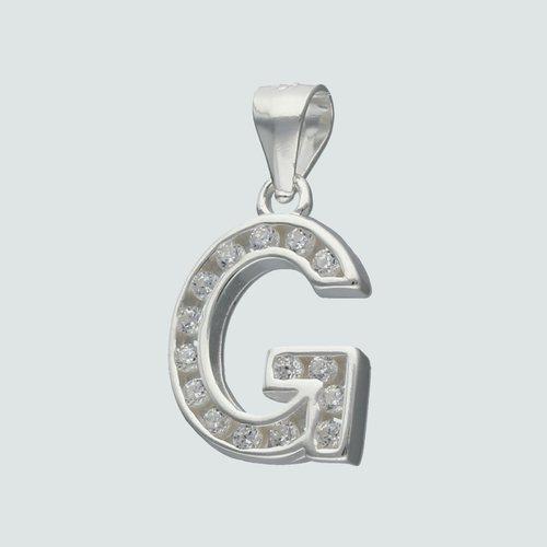 Colgante Letra G con Circones