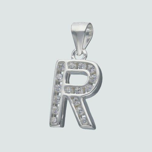 Colgante Letra R con Circones