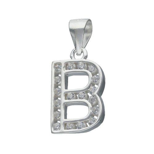 Colgante Letra B con Circones