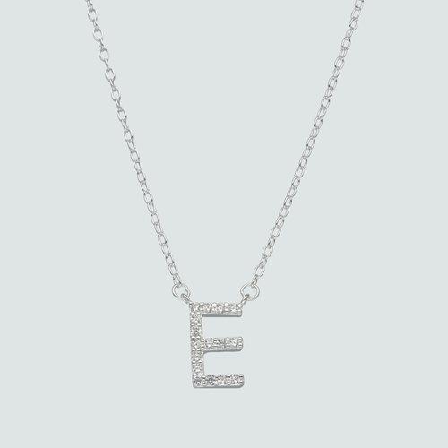 Collar Letra E con Circones