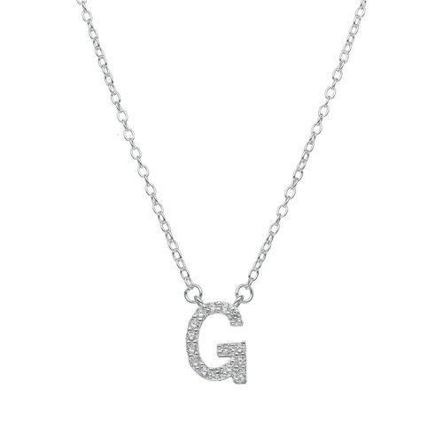 Collar Letra G con Circones