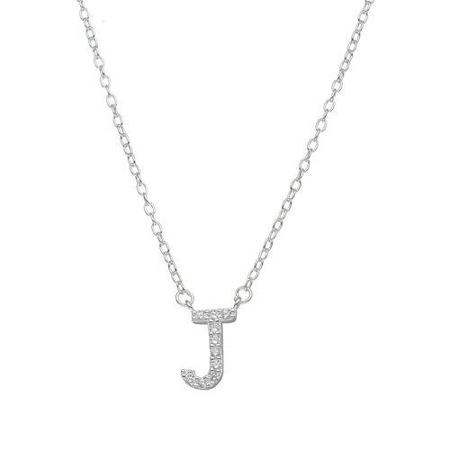 Collar Letra J con Circones