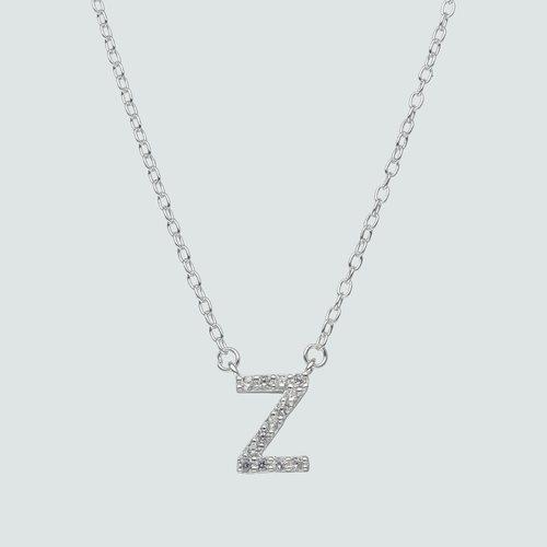 Collar Letra Z con Circones