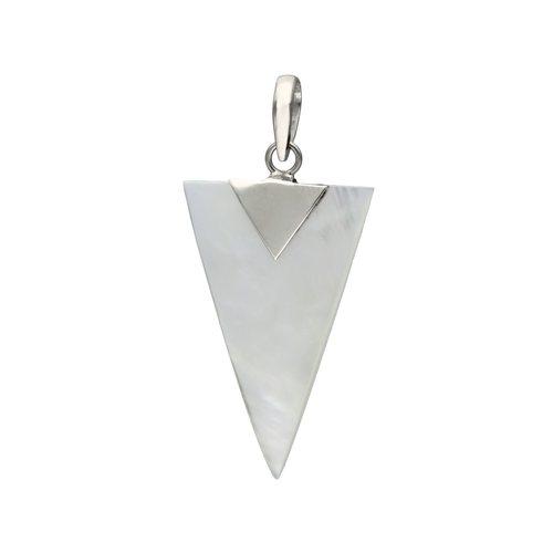 Colgante Triangulo Nacar