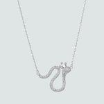 Collar Serpiente con Corona y Circones