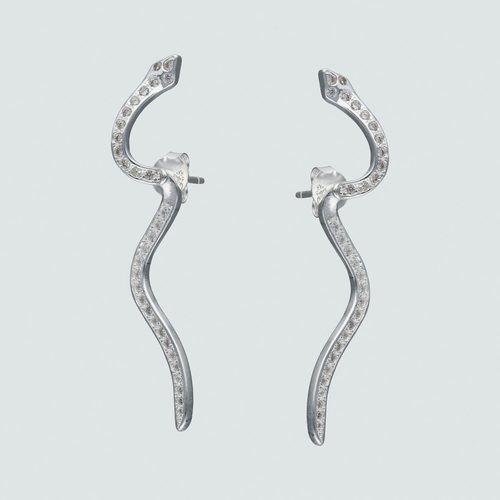 Aro Doble Serpiente Articulado con Circones