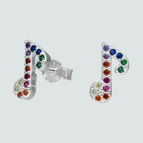 Aro Nota Musical Circones Multicolor