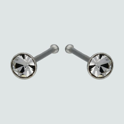 Aro Piercing Circón 3 mm