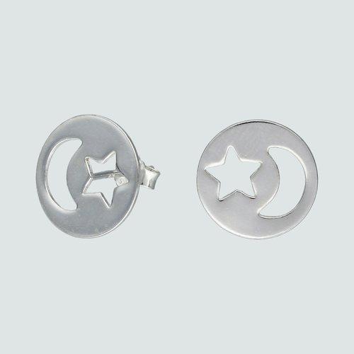Aro Media Luna y Estrella