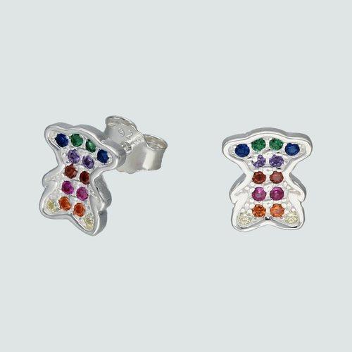 Aro Oso Circones Multicolor