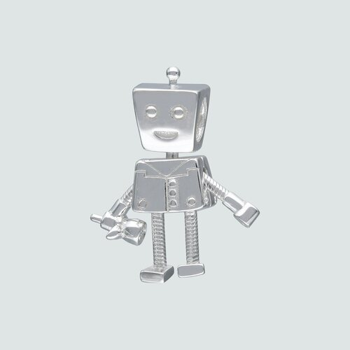 Colgante Charm Robot