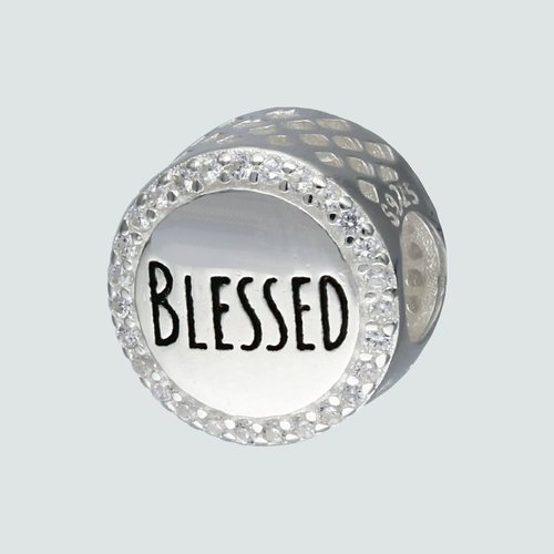 Colgante Charm Blessed con Circones